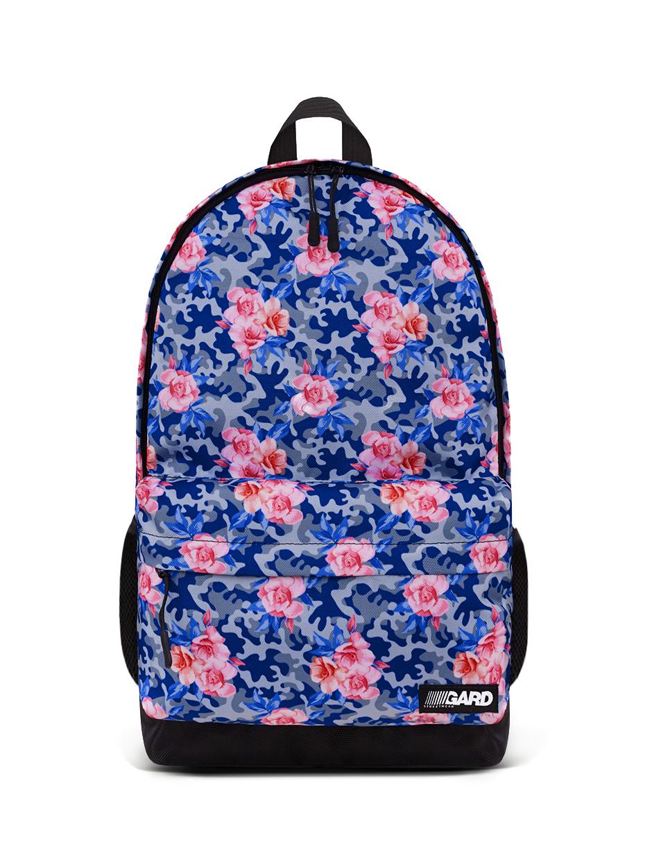 Рюкзак CITY | камуфляж с розовыми розами 1/20