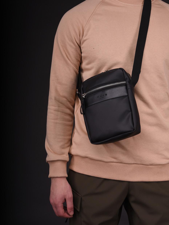 Сумка через плече MINI METAL ZIP | black-leather 4/20