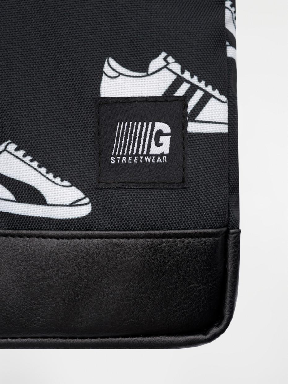 Сумка через плече MESSENGER COPYLEATHER   sneaker 4/18
