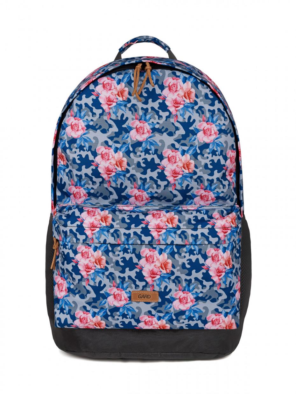 Рюкзак BACKPACK-2 | камуфляж с розовыми розами 1/20