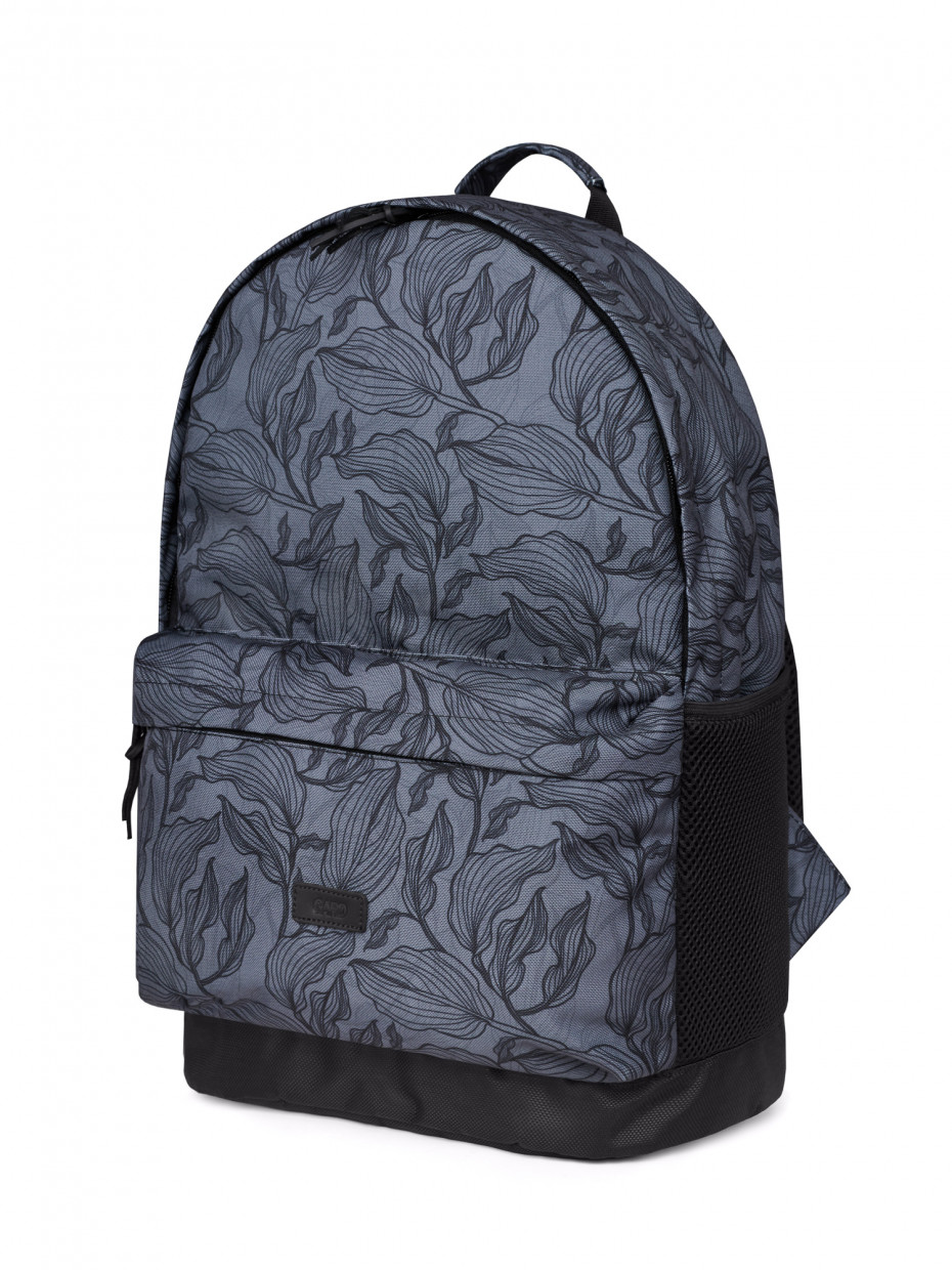 Рюкзак BACKPACK-2 | gray leaves 4/20