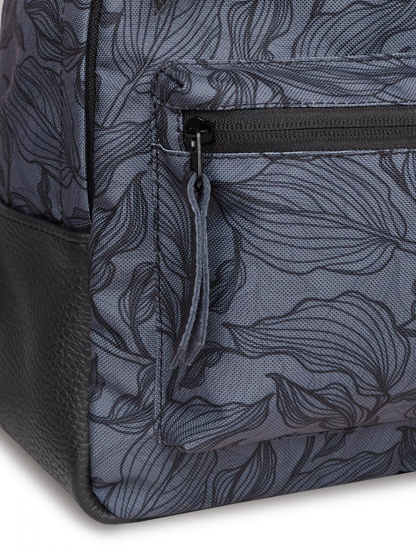 Женский рюкзак RAIN | gray leaves 4/20