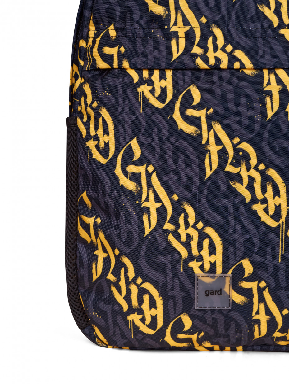 Рюкзак SMASH | жовта каліграфія 2/21