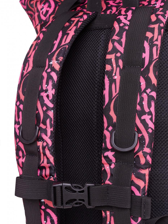 Рюкзак FLY BACKPACK | рожева каліграфія 2/20