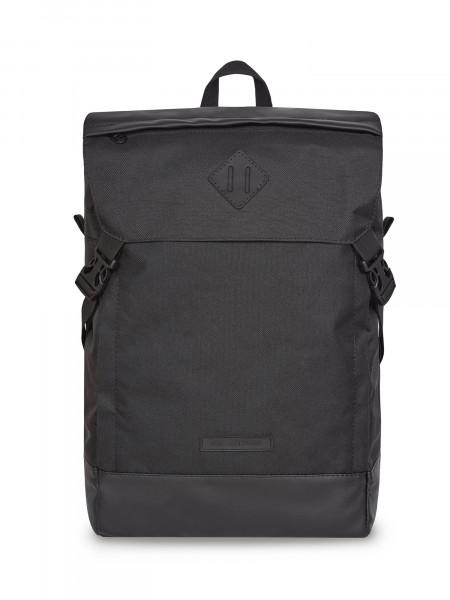 Рюкзак CAMPING-2 | черный/серая эко-кожа 3/20