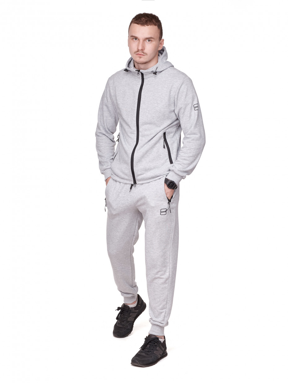 Спортивный костюм GSS-2 I серый меланж 3/21