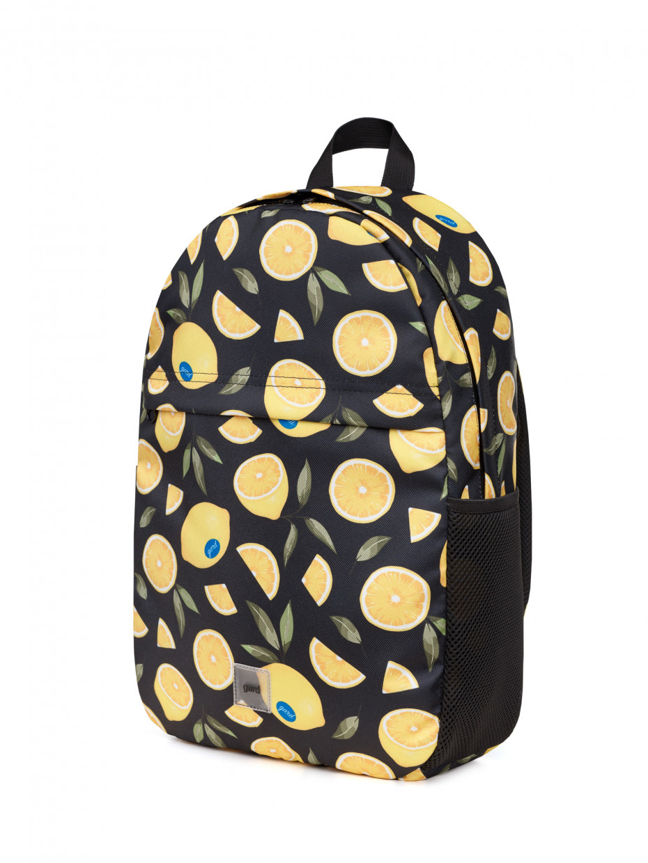 Рюкзак SMASH   черный лимон 2/21