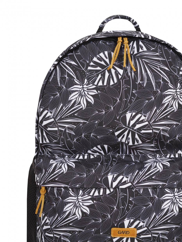 Рюкзак BACKPACK-2 | белые листья 1/20