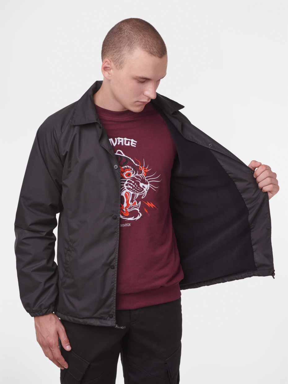 Куртка COACH JACKET | чорний 3/19