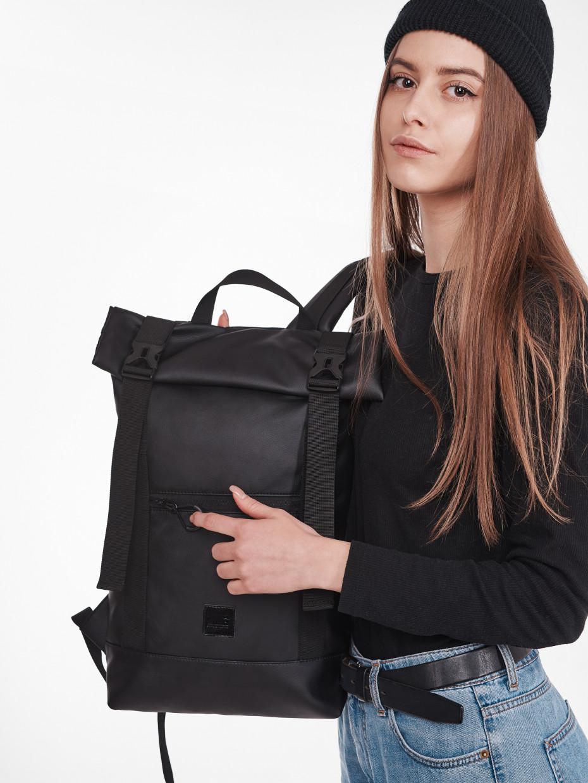 Рюкзак HOLDER | эко-кожа черная 1/21