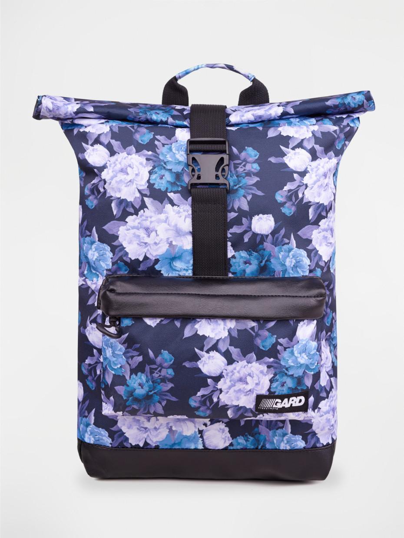 Рюкзак ROLLTOP | фиолетовые цветы 3/19