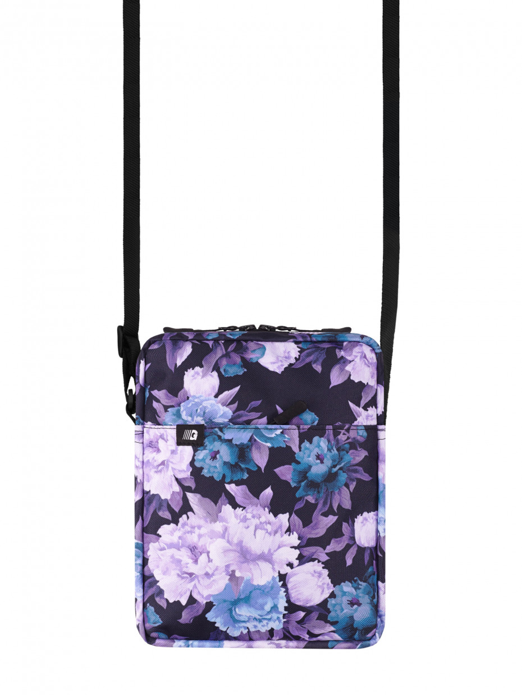 Сумка через плечо MINI 3 | фиолетовые цветы 1/20