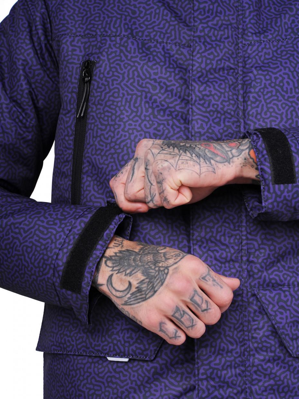 Зимова парка MIX COLOR MOD | fingerprint violet camo 4/20