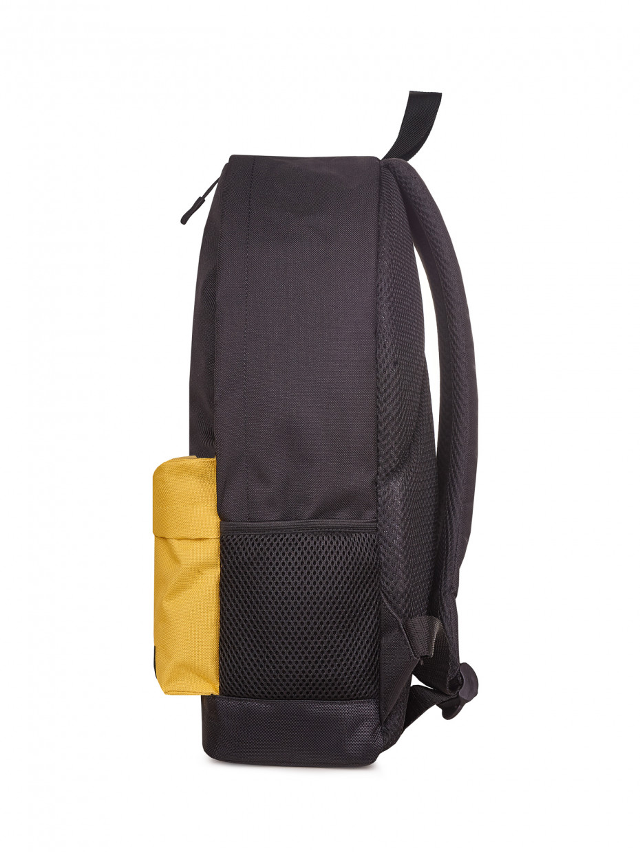 Рюкзак CITY | чорний/жовтий 1/20