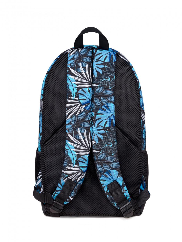 Рюкзак CITY | синє листя 1/20