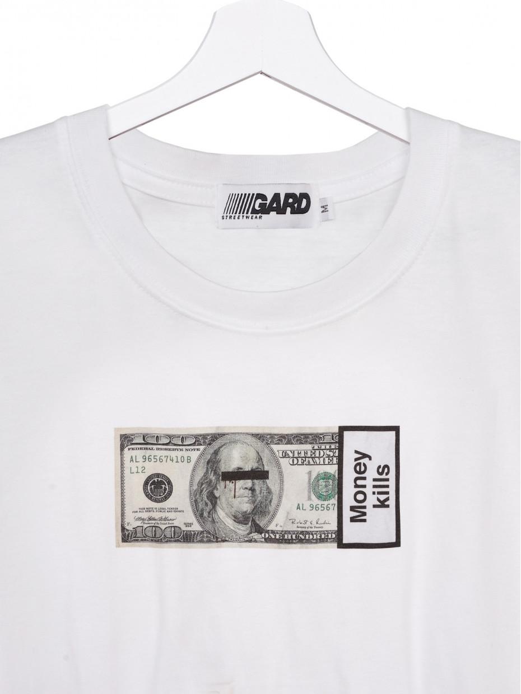 Футболка MONEY KILLS | білий 3/20