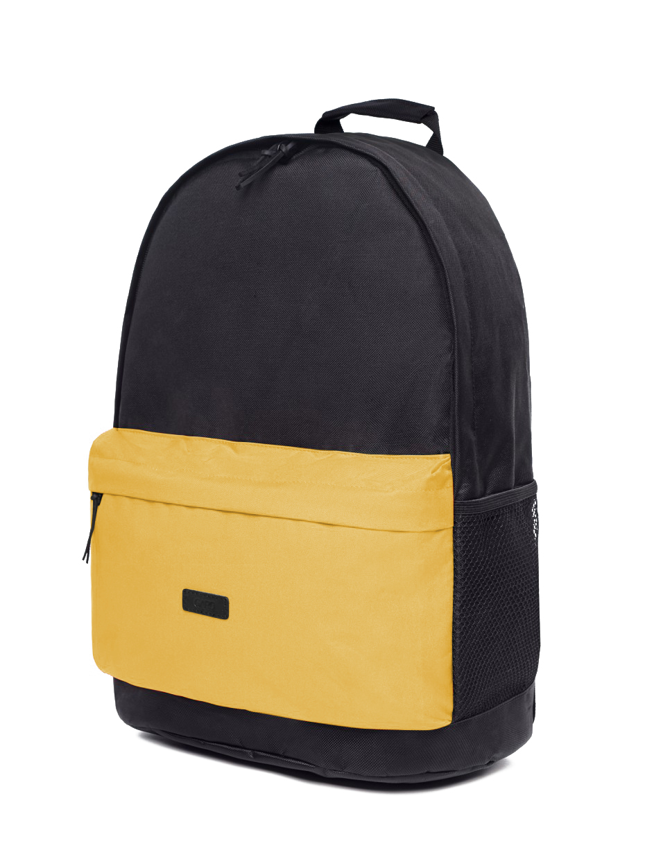 Рюкзак BACKPACK-2 | чорний/жовтий 2/21
