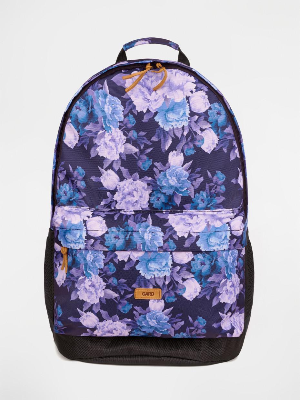 Рюкзак BACKPACK-2 | фиолетовые цветы 4/19