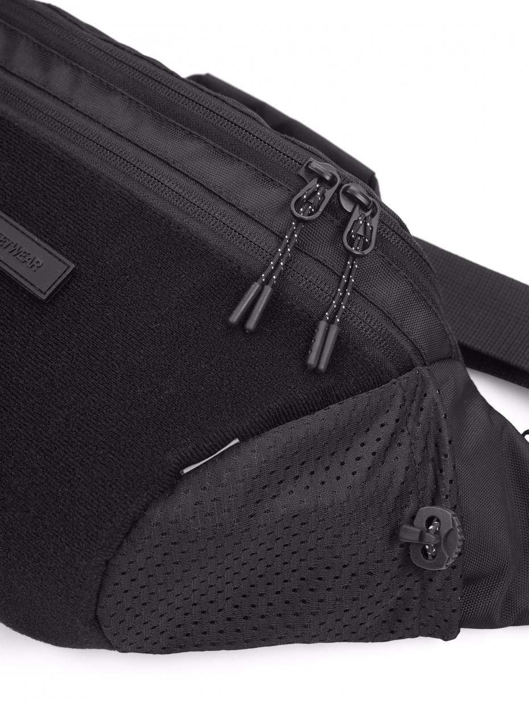 Сумка на пояс ARIZONA | чорний/Velcro 3/21