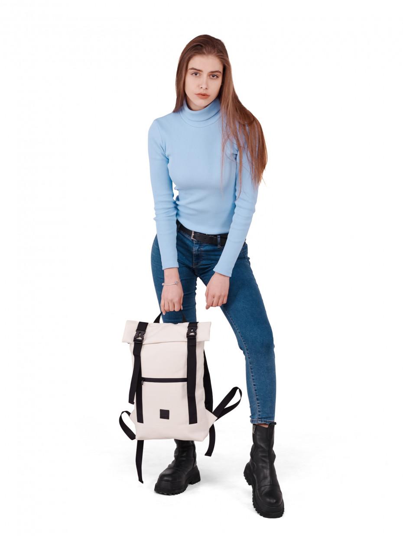 Рюкзак HOLDER | эко-кожа белая 1/21