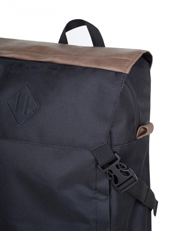 Рюкзак CAMPING-2 | коричнева еко-шкіра 3/20