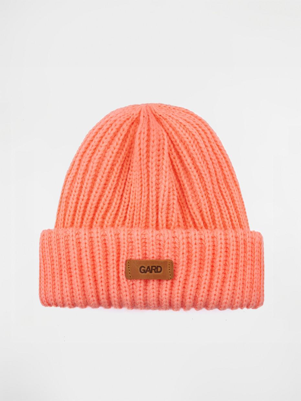 Зимняя шапка knit | персиковый 4/18
