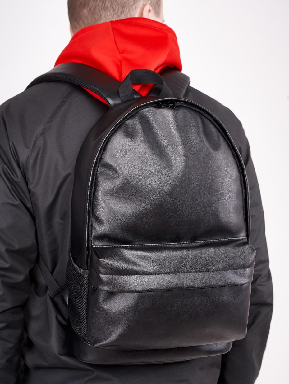Рюкзак CITY | эко-кожа черная 1/20