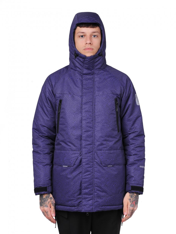 Зимняя парка MIX COLOR MOD | fingerprint violet camo 4/20