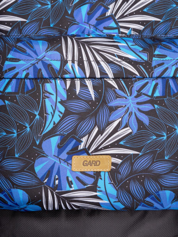 Рюкзак BACKPACK-2 | синие листья 1/20