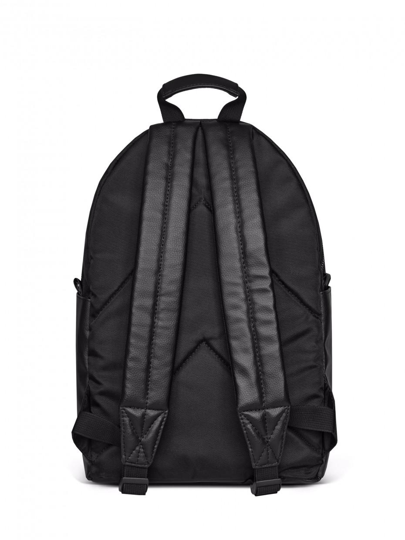 Рюкзак TWO POCKETS | черная эко-кожа 1/21