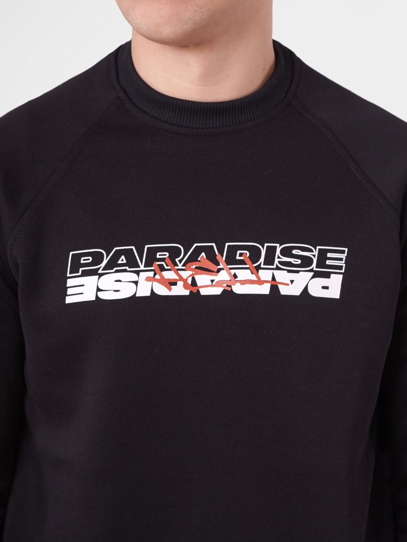Свитшот fleece PARADISE/HELL I черный 4/19