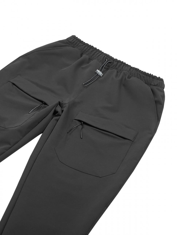 Штаны FRONT POCKETS | темно-серый 4/20