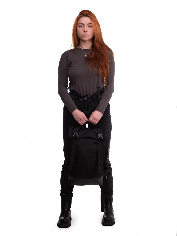 Рюкзак HOLDER | черный Oxford/черная эко-кожа 1/21