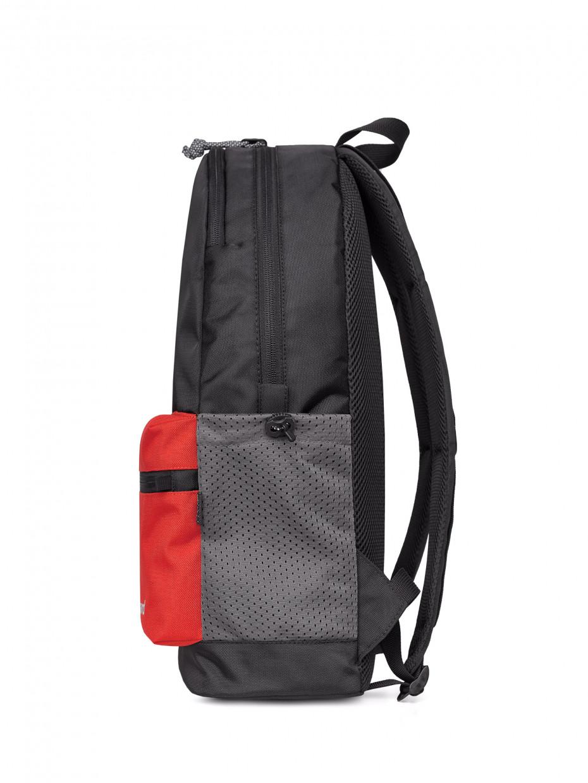 Рюкзак CITY-2 | чорний/червона CORDURA 4/21