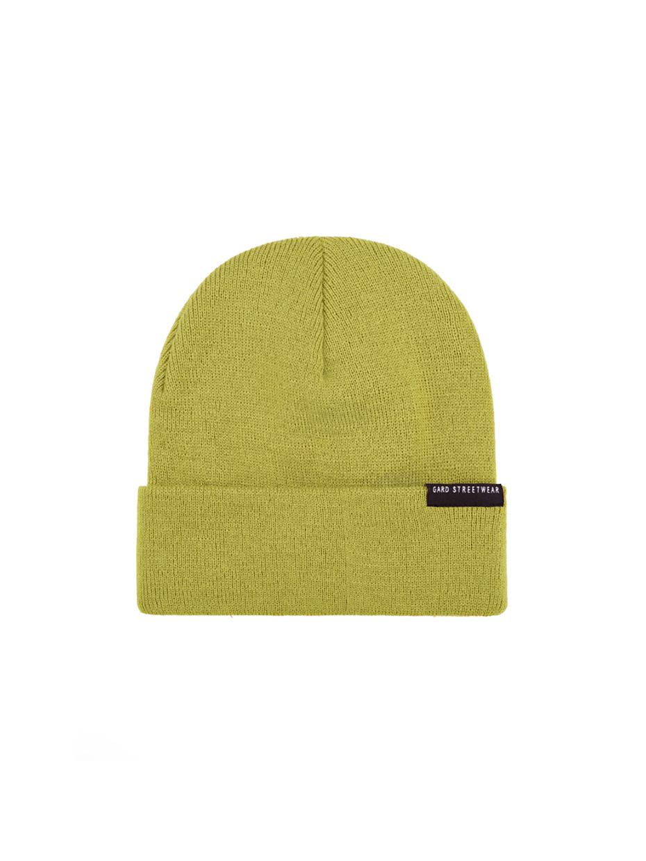 Зимняя шапка beanie-2 | оливковый 4/19