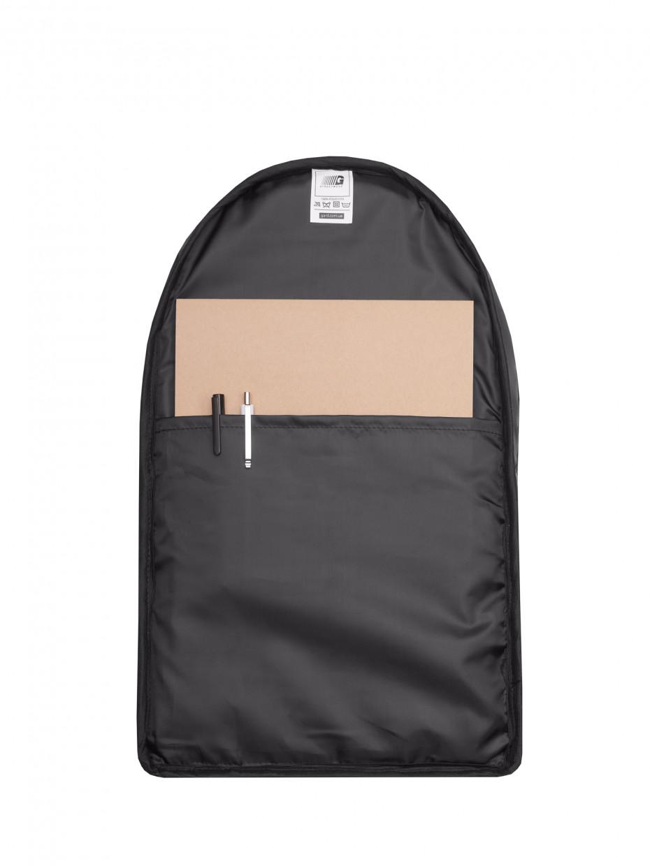 Рюкзак CITY-2 | чорний/еко-шкіра чорна 4/21