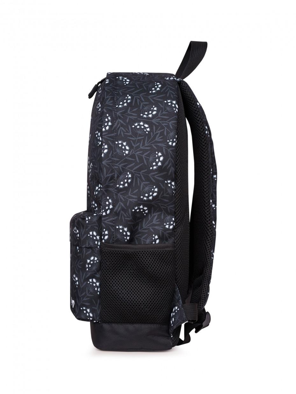 Рюкзак CITY | черные одуванчики 4/20