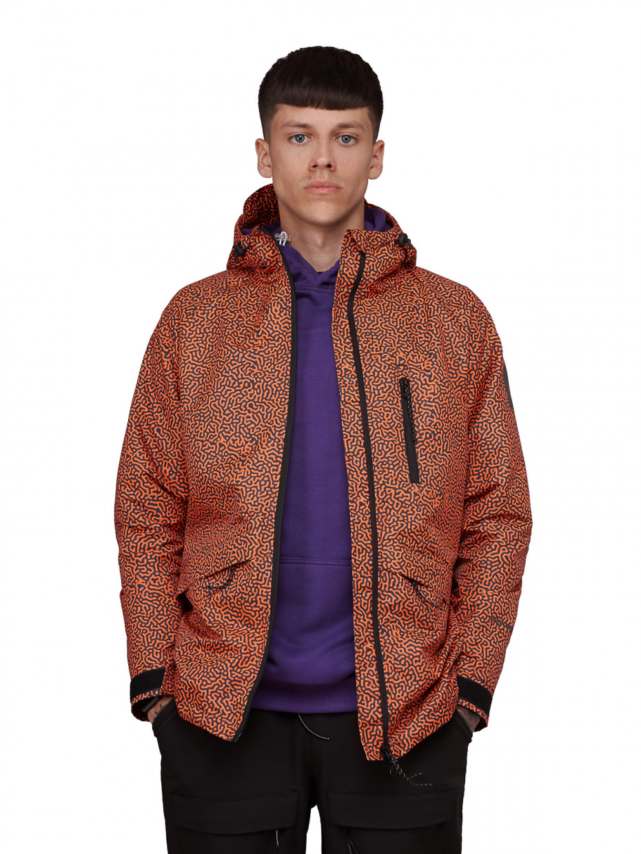 Куртка MІX COLOR I fingerprint orange camo 4/20