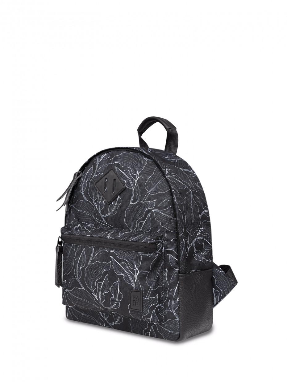 Женский рюкзак RAIN | black leaves 4/20