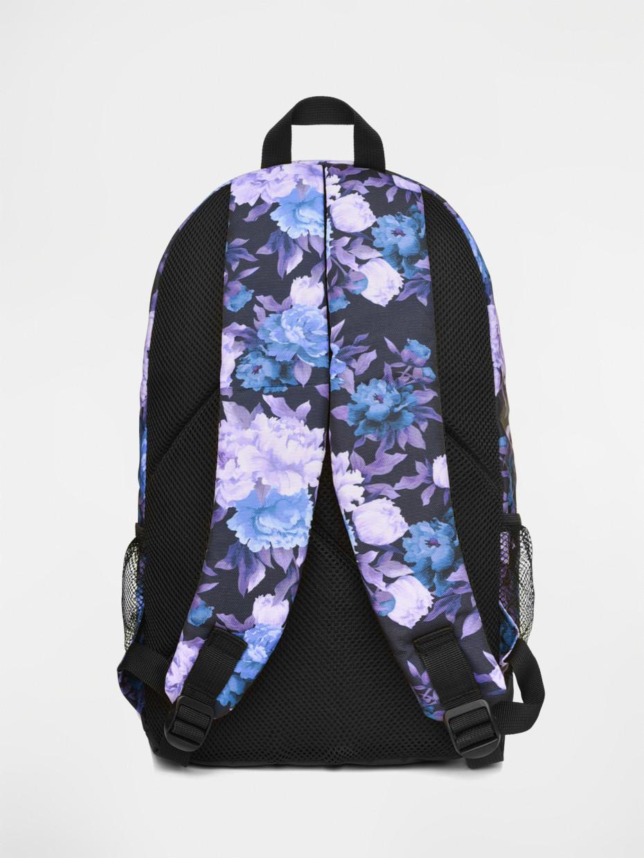 Рюкзак CITY | фіолетові квіти 3/19