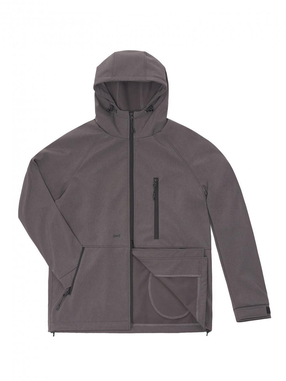 Куртка SOFT SHELL I темно-серый меланж 3/21