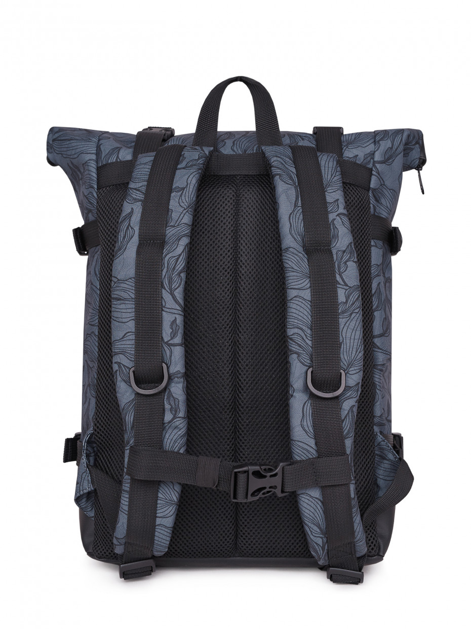 Рюкзак FLY BACKPACK | gray leaves 4/20