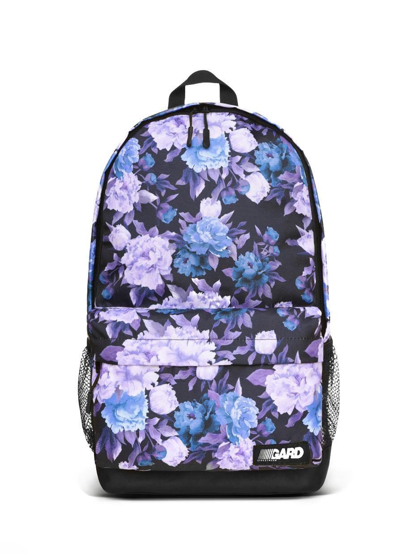 Набор COMBO Рюкзак+Бананка фиолетовые цветы