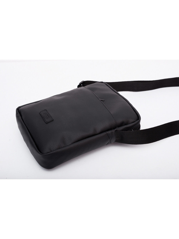 Сумка через плечо MESSENGER MINI BAG 1/18 | black-leather