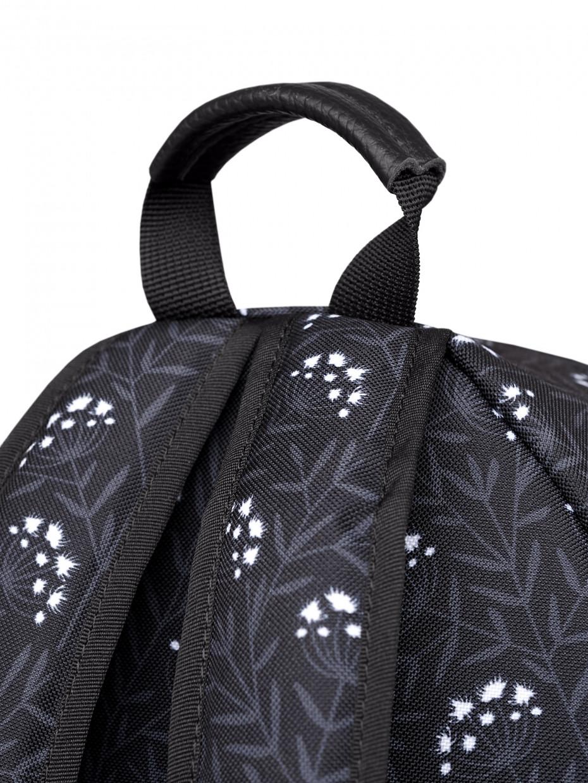 Женский рюкзак RAIN | черные одуванчики 4/20