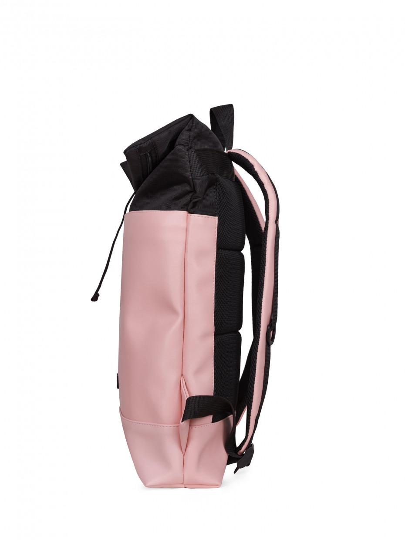 Рюкзак MINI POCKET   черный/эко-кожа розовая 1/21