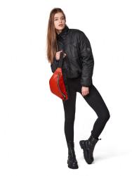 Куртка ветровка женская черная