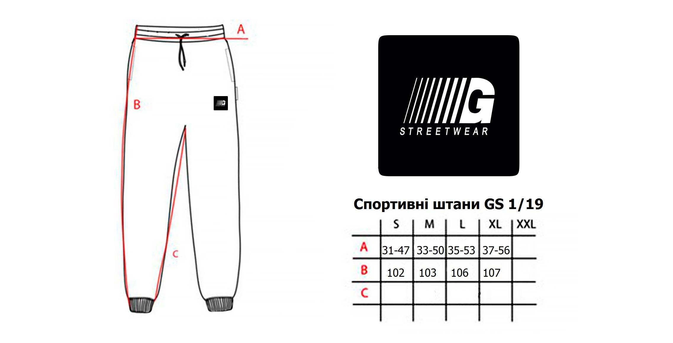 Спортивні штани GS flecce 1 19  f573afdc41ad1